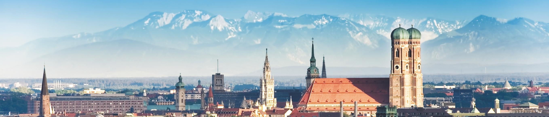München Schwabing Alpenblick