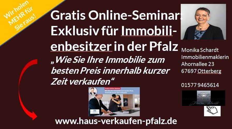 Haus verkaufen Kaiserslautern Online-Seminar